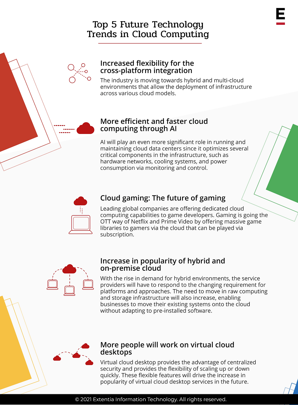 top 5 future technology trends in cloud computing