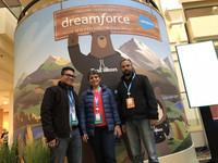 Extentia at Dreamforce 2017 – Photo Blog Post