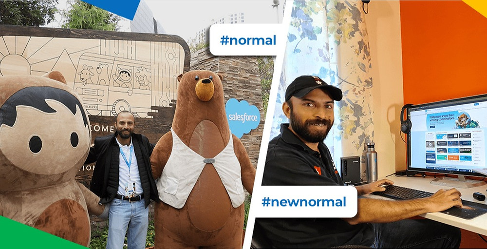 Dreamforce 2020 - Normal Vs New Normal - Binu