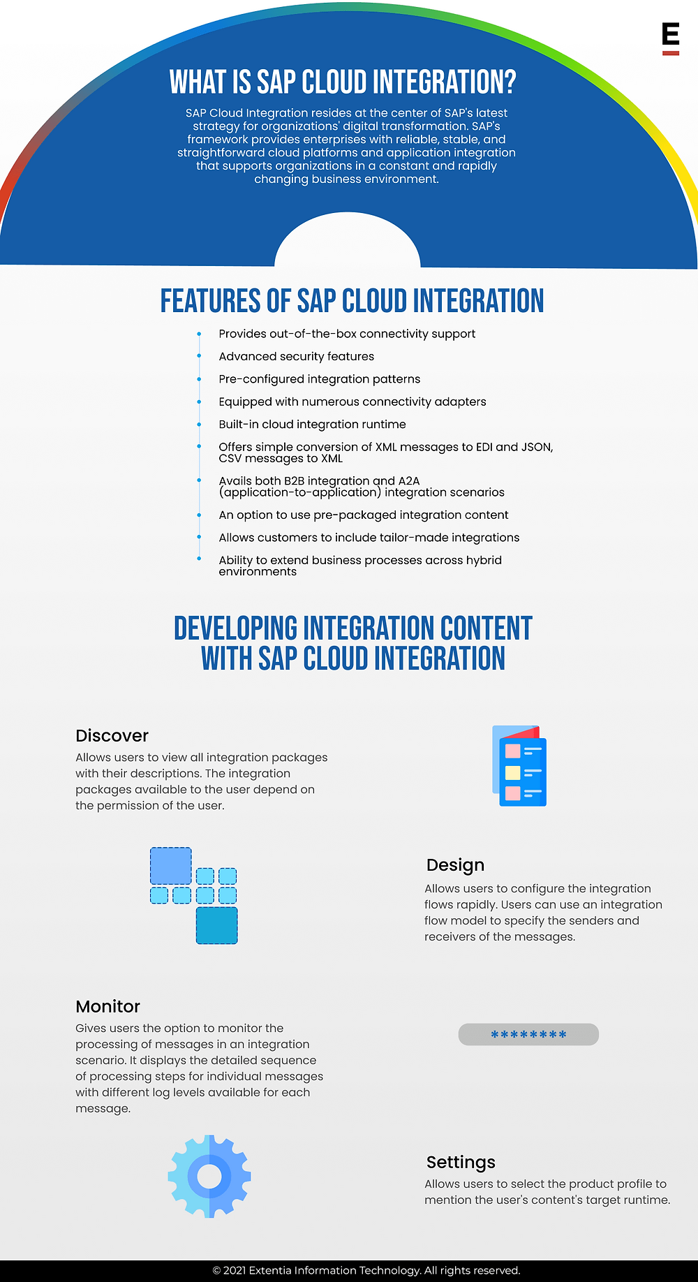 features of SAP cloud integration