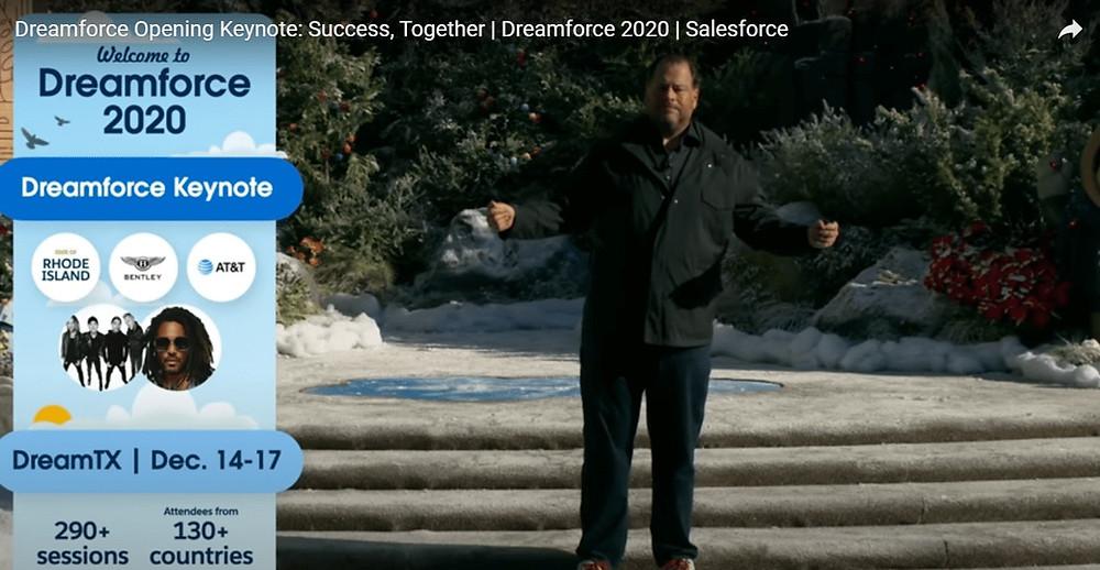 Dreamforce 2020 opening keynote