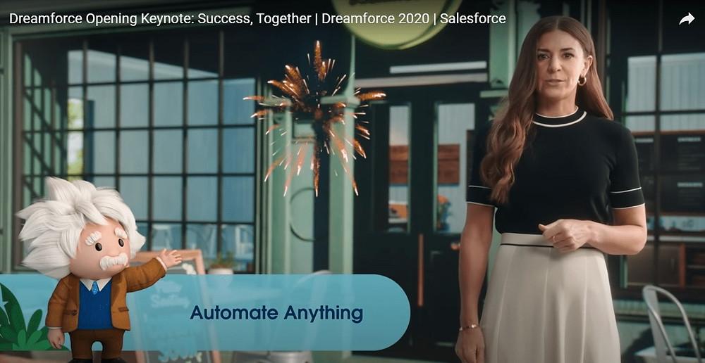 Dreamforce 2020 - Einstein Automate