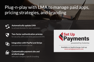 Set Up Payments powered by Extentia