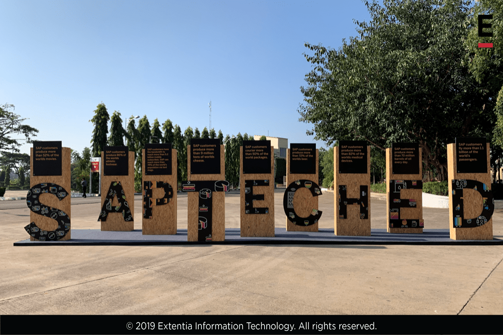 Extentia at SAP TechEd 2019