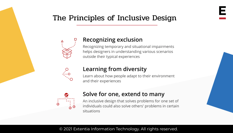 Principles of Inclusive Design