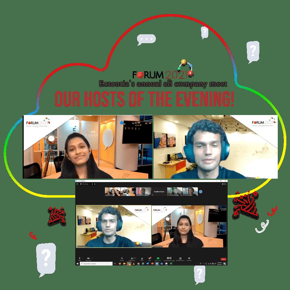 Extentia Forum 2021 - Hosts of the evening