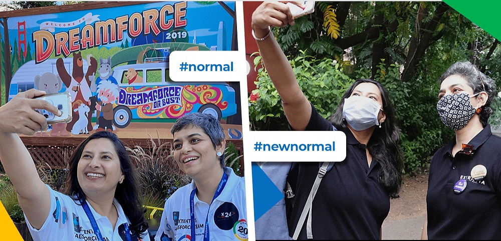 Dreamforce 2020 - Normal Vs New Normal - Komal and Naazneen