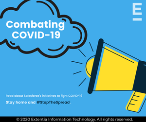 Salesforce's Initiative to fight COVID-19