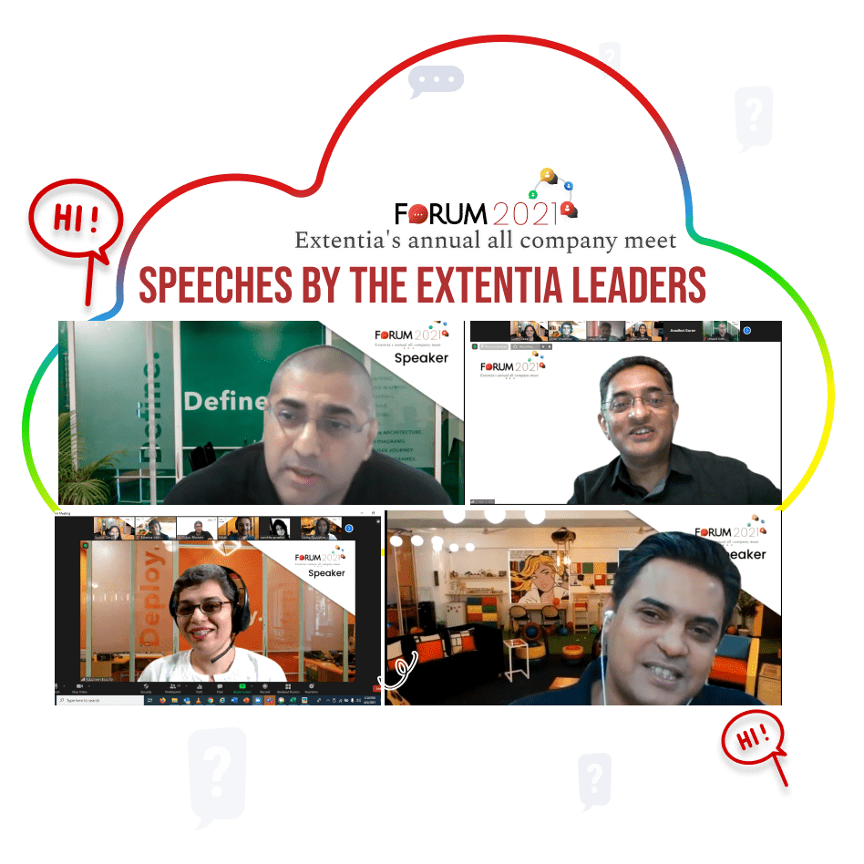 Extentia Forum 2021 - speeches by the Extentia leaders