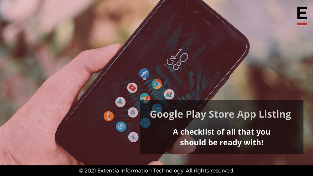 Google play store app listing checklist