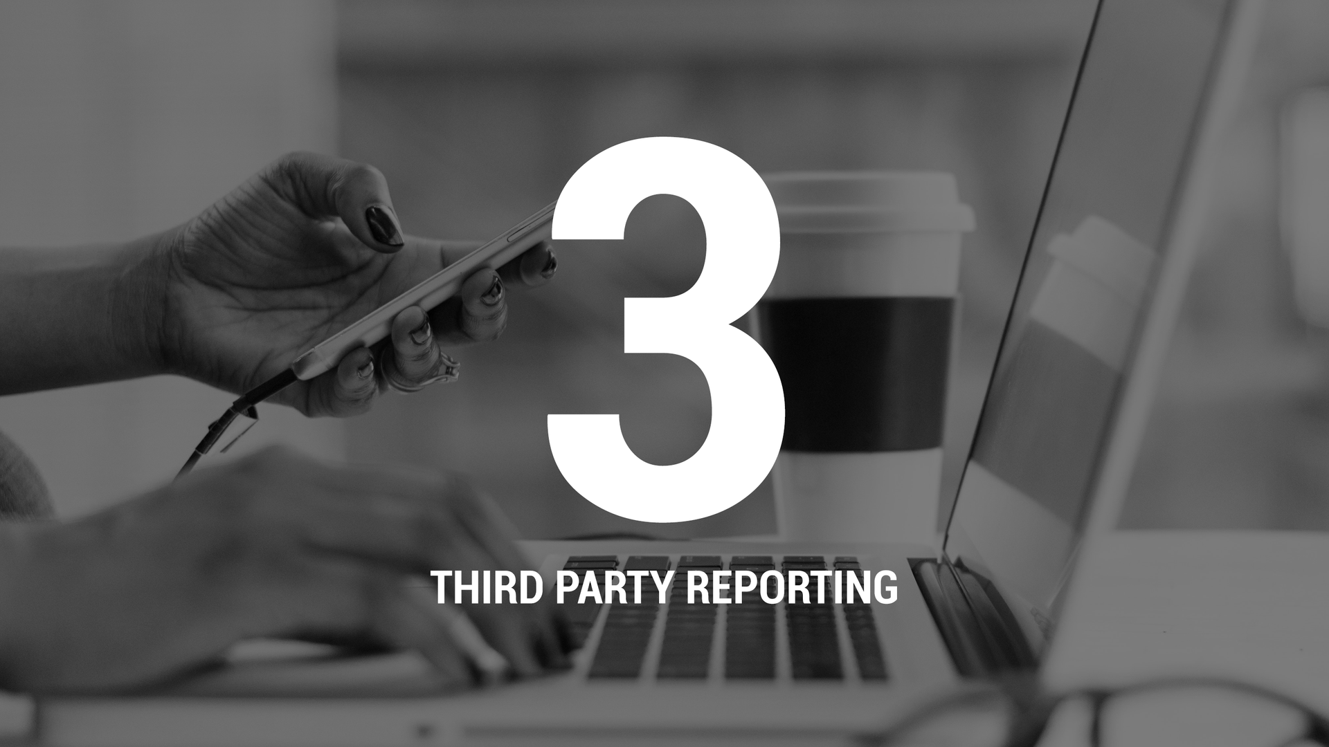 THIRD PARTY REPORTING