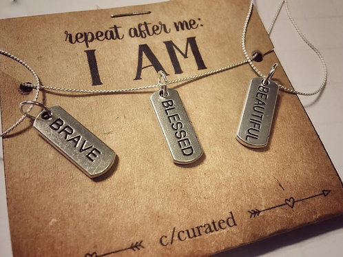 I am necklace series