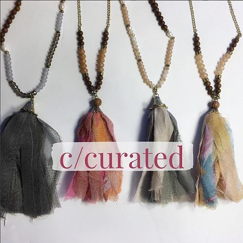 Tassel necklace variety pack