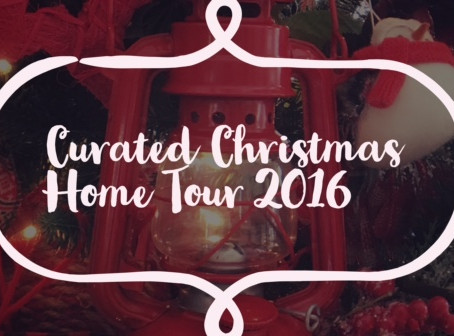 2016 Curated Christmas Home Tour