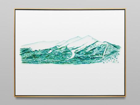 "Peak One - 11x14"" watercolor on paper"