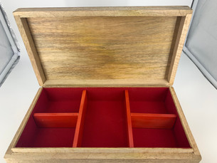 Optional 5 compartment Box