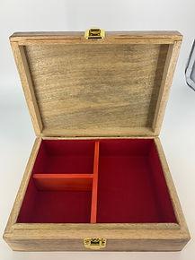Custom timber jewellery box