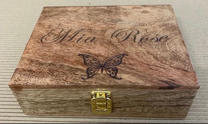 custom engraved box