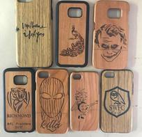 Any Logo engraved Phone Case