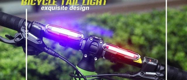 MUQGEW Bicycle Accessories Youthful 5 Modes USB