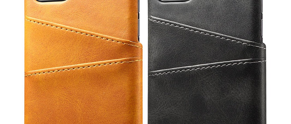 Leather iPhone 11 Card Case