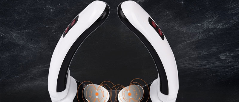 Electric Pulse Back and Neck Massager Far Infrared