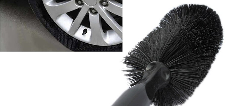 Car Vehicle Motorcycle Wheel Tire Rim Scrub Brush
