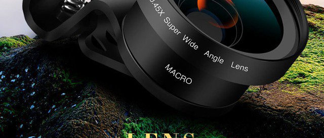 Super Wide Angle Lens Macro Lens For Smartphones
