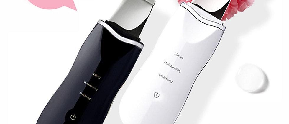 Ultrasonic Ion Deep Cleaning Skin Scrubber Peeling