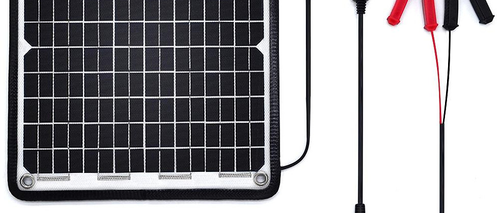 ACOPOWER 24V 10 W  Trickle Solar Charger 0.28Amp, Trolling Motor