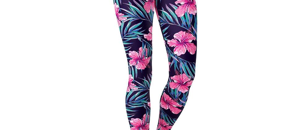 Jean Pink Tropical Flowers