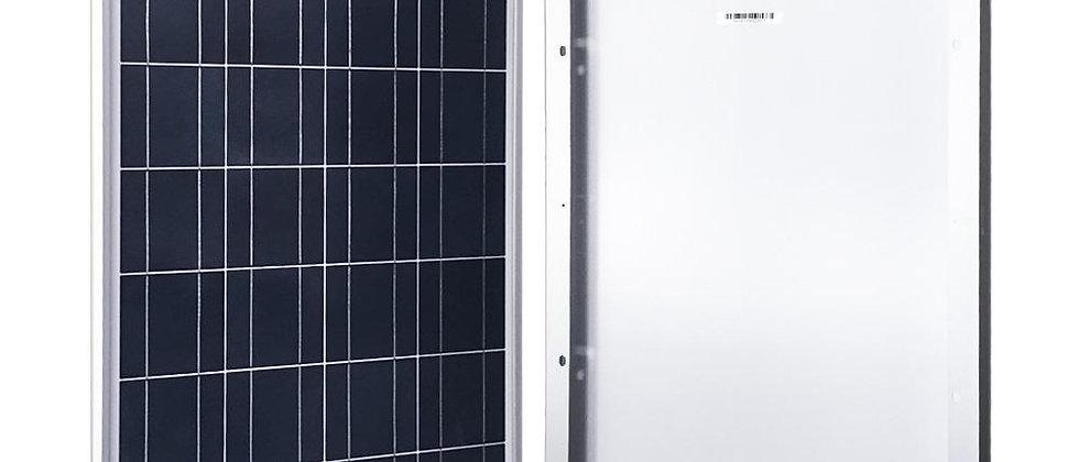 ACOPOWER 100 Watts Poly Solar Panel, 12V