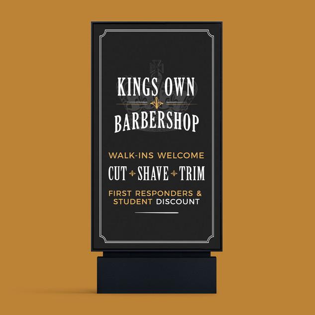 Kings Own Barbershop
