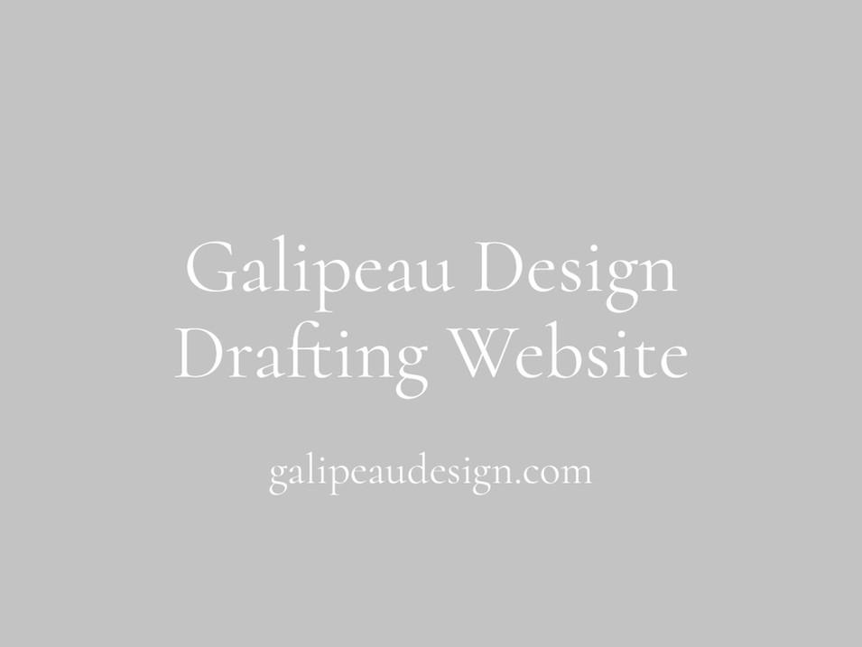 Galipeau Design Drafting