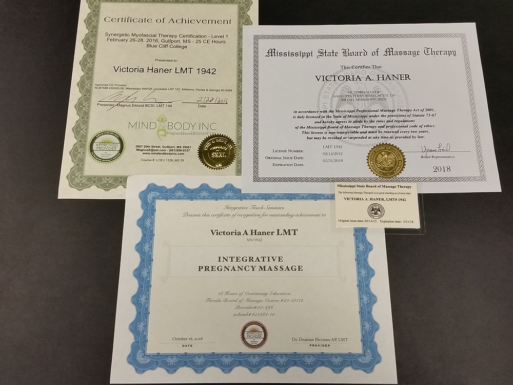 Certifications and Licenses LMT1942
