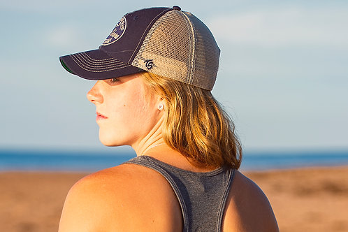 Mens and Ladies North Shore Surf Company Trucker Hat