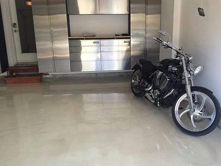 White Pearl Epoxy Floor