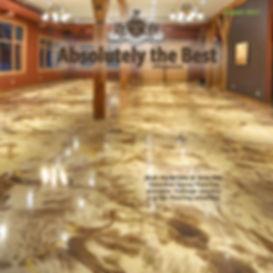 Coffee Brown Epoxy Flooring
