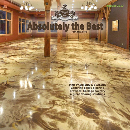 Coffee Brown Epoxy Flooring
