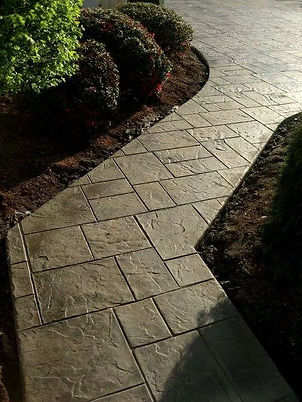Stamped Concrete Overlays