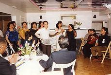 Bayani at reception for premiere of Mga