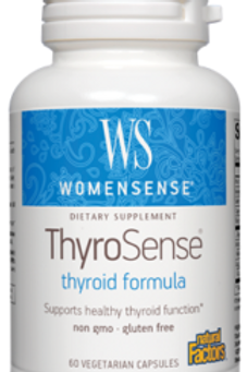 Natural Factors Women's ThyroSense 60 Cap