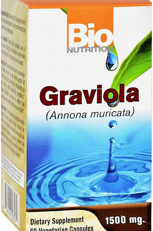 Graviola-Soursop 60 Cap by Bio Nutrition