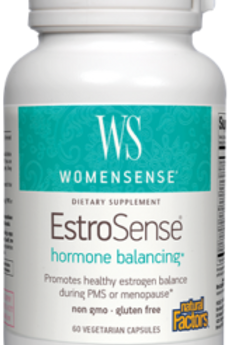 Natural Factors Women's EstroSense 60 Cap