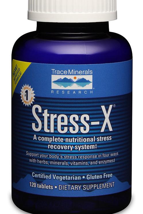 Stress-X by Trace Minerals 120 Tab