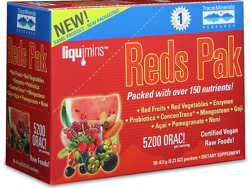 Reds Pak by Trace Minerals 30 Packet