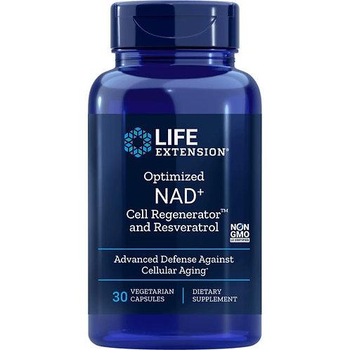 NAD+ Cell Regenerator w/ Resveratrol by Life Extension