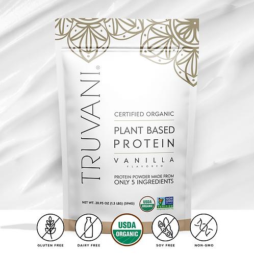 Vanilla Plant Based Protein Powder by Truvani