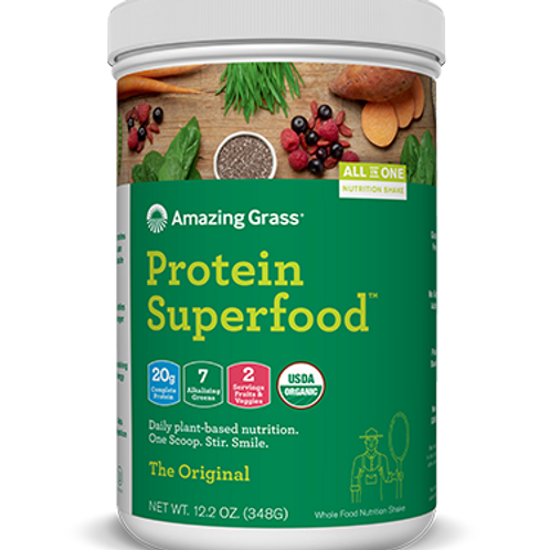 Protein Superfood by Amazing Grass 10 Serving