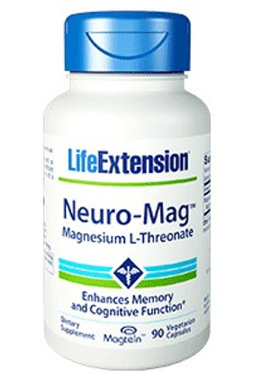 Neuro-Mag (L-Threonate) by Life Extension 90 cap